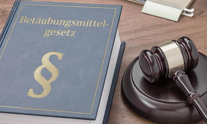 Gesetzung Betäubungsmitelgesetz